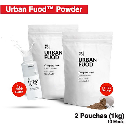 2 Pouches (1kg) + FREE Bottle (Key-in Promo Code at Checkout for FREE)