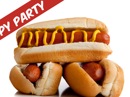 New Special: Puppy Dawg Hot Dog Party