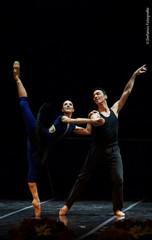 Maria Kousouni and Stratos Papanousis in Rehearsal. Photo by Stefanos.