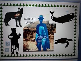 """""""Los Salesianos de Deusto plantan cara al cambio climático desde el Cementerio de Sad Hill&quot"""