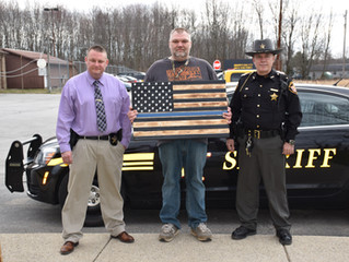 Thin Blue Line Flag Donation
