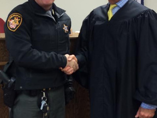 Sheriff meets with Juvenile Judge