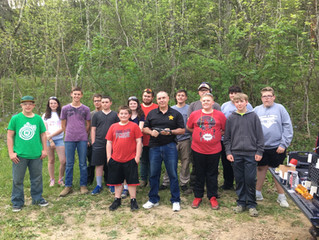 Sheriff Ellis visits Brown County 4H Youth Shooting Sports
