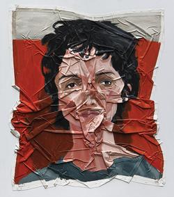 Acrylic on canvas (2010) 110x95 cm