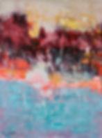 4.Acrylic on canvas 2018 size 114.89cm .