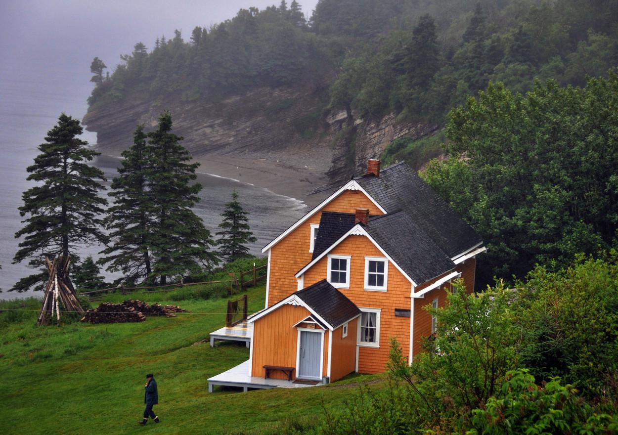 Gaspésie, parc national de Forillon