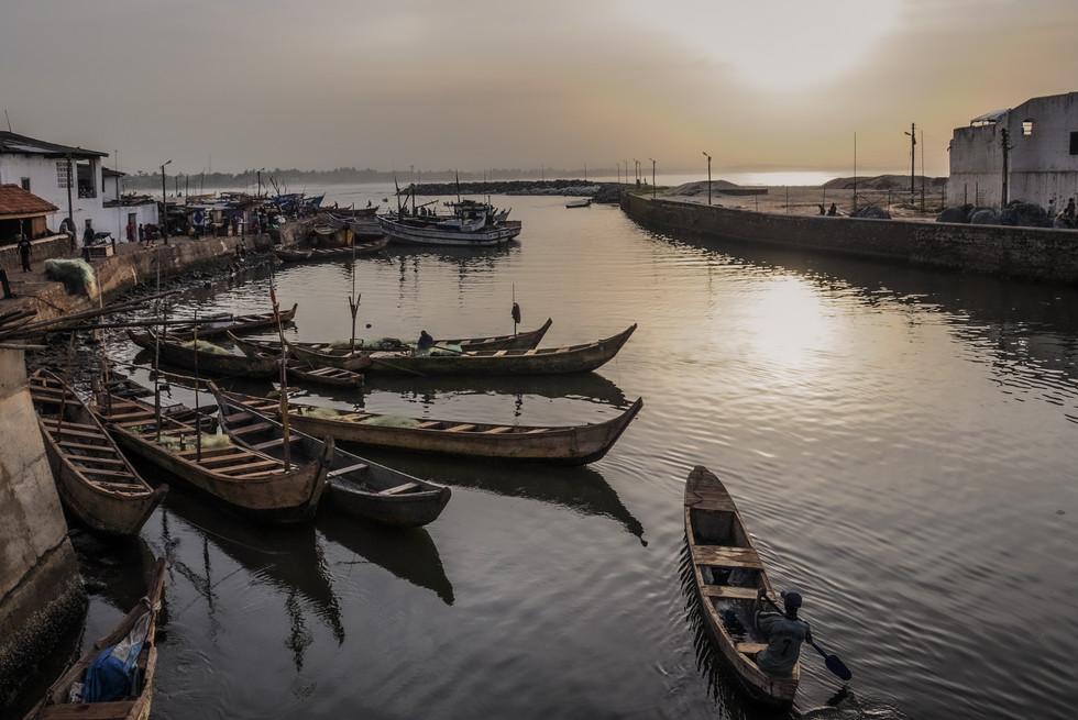 Port d'Elmina, Ghana