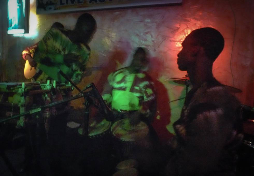 Concert de jazz à Abidjan, Côte d'Ivoire