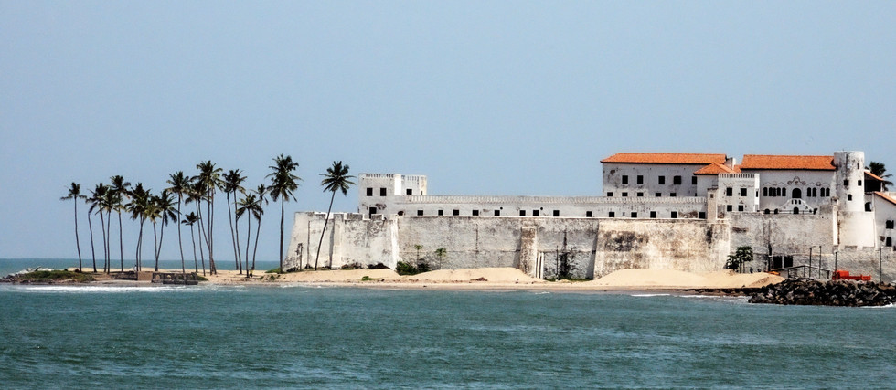 """Le """"château"""" d'Elmina, Ghana"""