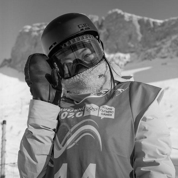 Hinari Asanuma (Japon), snowboard, Leysi