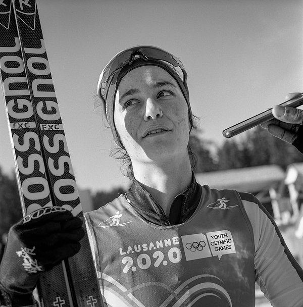 Kendall Kramer (USA), ski fond 5km, Le B