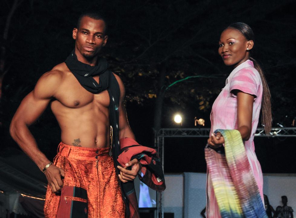 Défilé de mode à Abidjan, Côte d'Ivoire