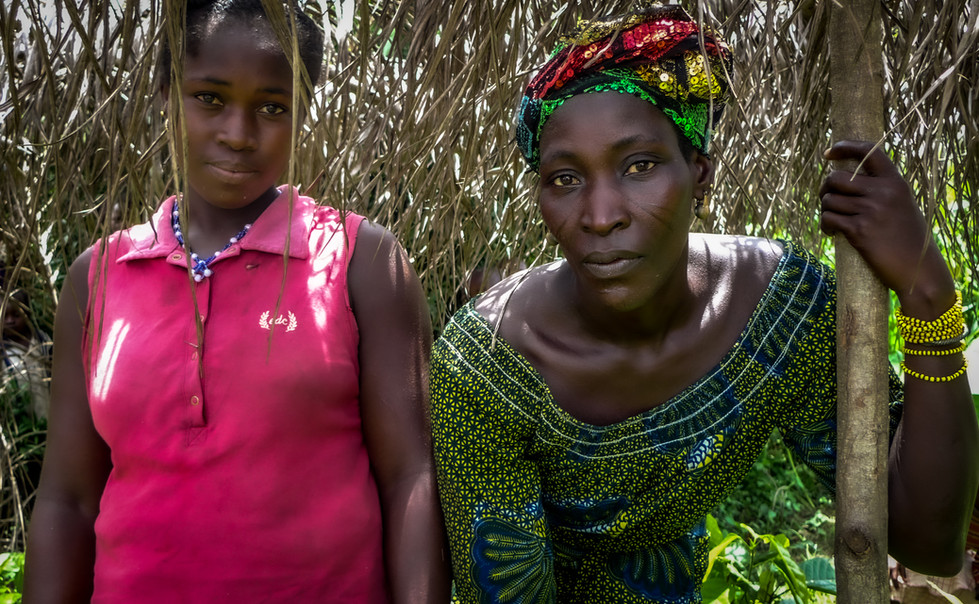 Coopérative de femmes cultivatrices à Boko, Côte d'Ivoire