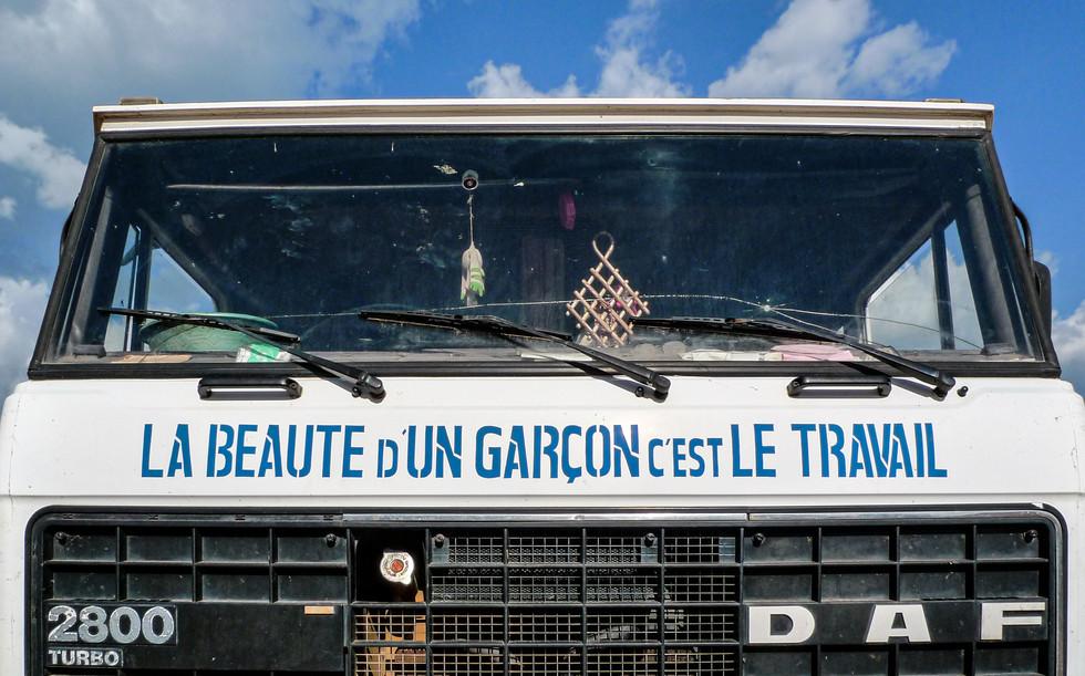 Sur la route Daloa-Gagnoa, Côte d'Ivoire