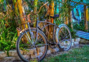 Old Beach Cruiser