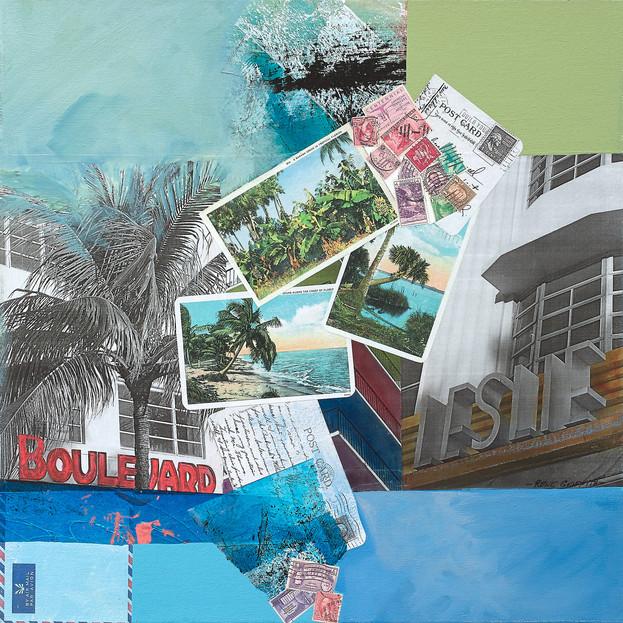 Vintage Tropical Florida II #144