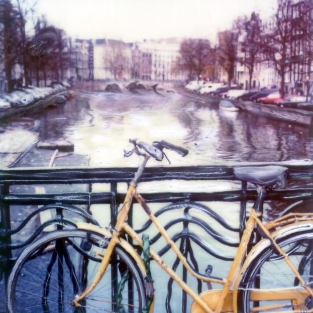 Yellow Dutch Bicycle