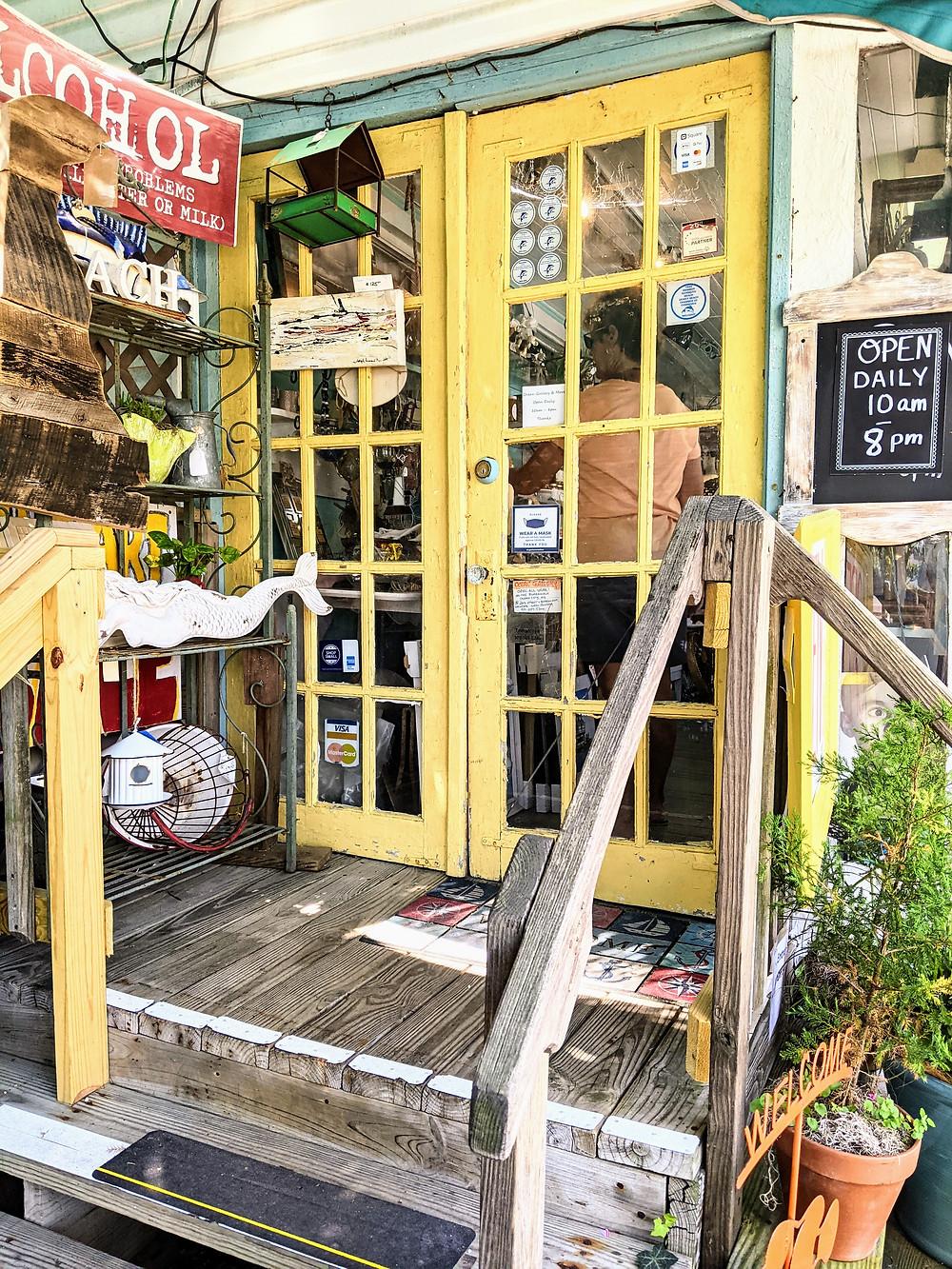 Main Street shop in Rehoboth, DE.