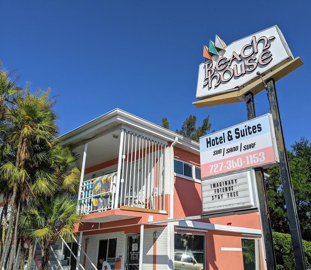 Mom and pop motel on Treasure Island.