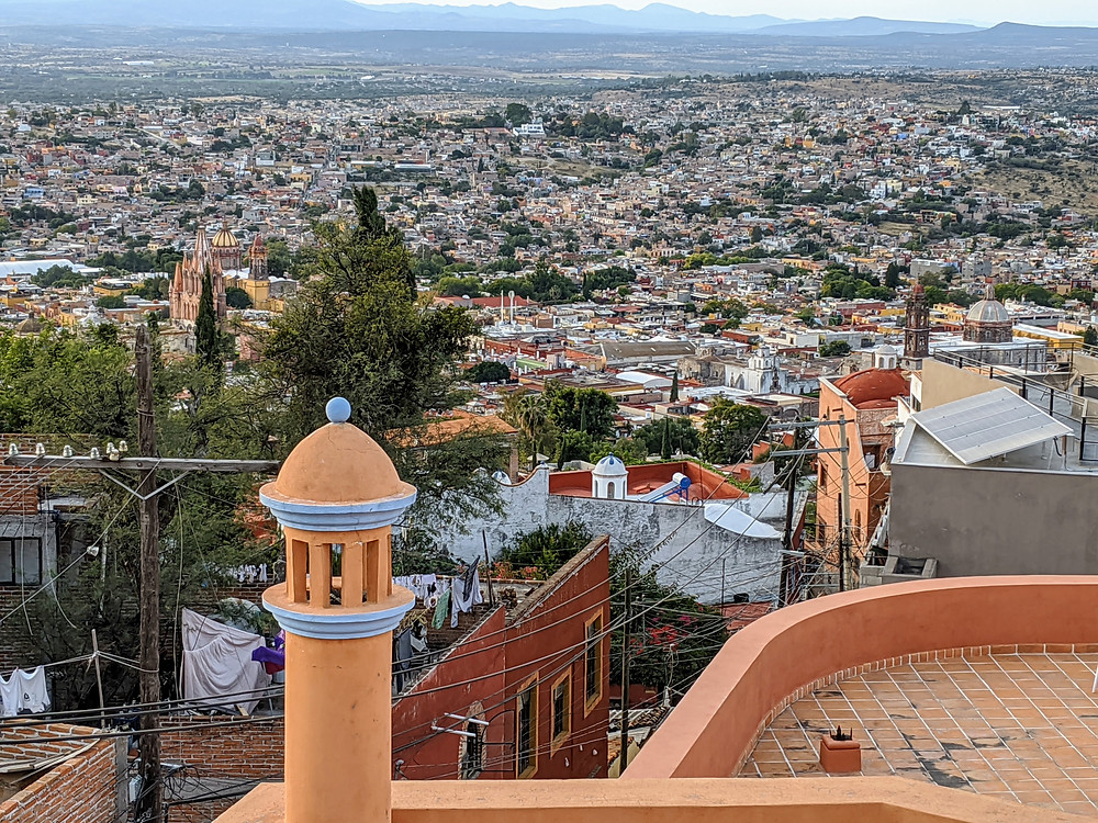 Rooftop view of San Miguel de Allende. Photo by Rene Griffith.