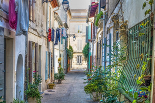 Alley in Corfu