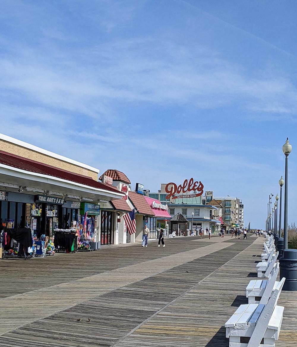Rehoboth Beach, Delaware Boardwalk