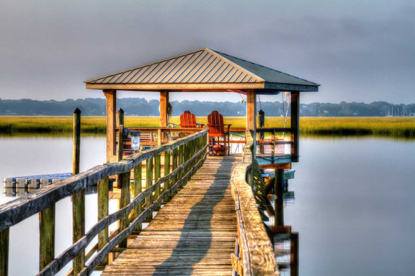 """Low Country Pier"""