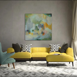 """Silver Lining"" shown in a livingroom"