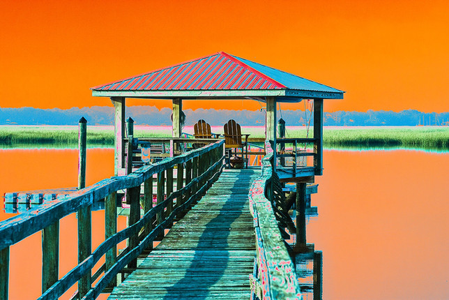 """""""Low Country Pier"""""""