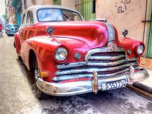Havana Vintage Car