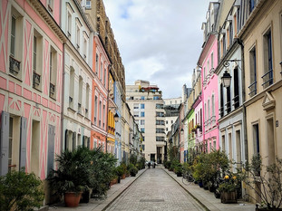 Most Colorful Street in Paris I