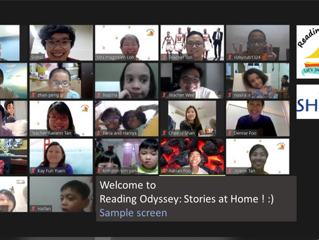 Reading Odyssey: Stories at Home
