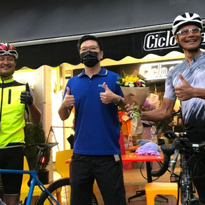 Duo Cycled 500km In One Ride To Support Students