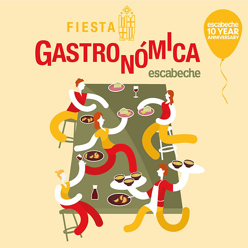 Fiesta Gastronomica 10 year event Instag