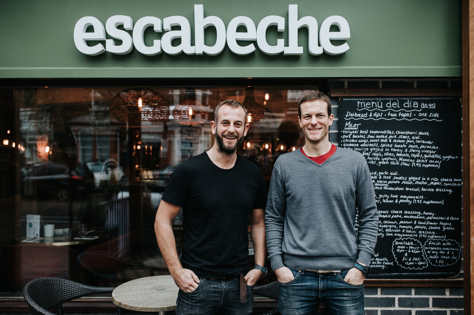 escabeche re-opening - 2018