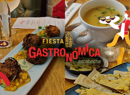 fiesta gastronomica – escabeche tasting menu wrap-up