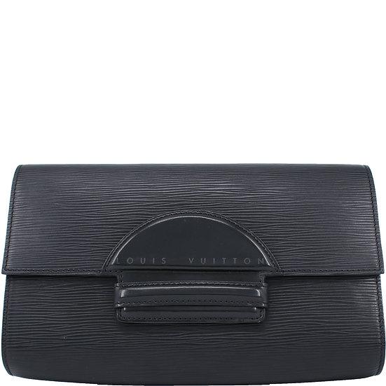 Louis Vuitton Clutch Epi Schwarz