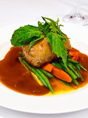 Filet de Porc Farci et Légumes