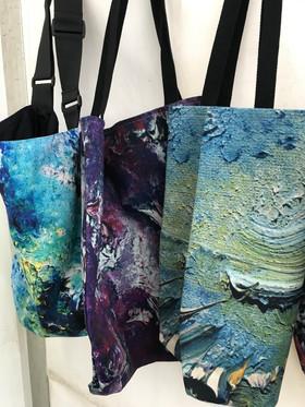Art Design Tote Bags