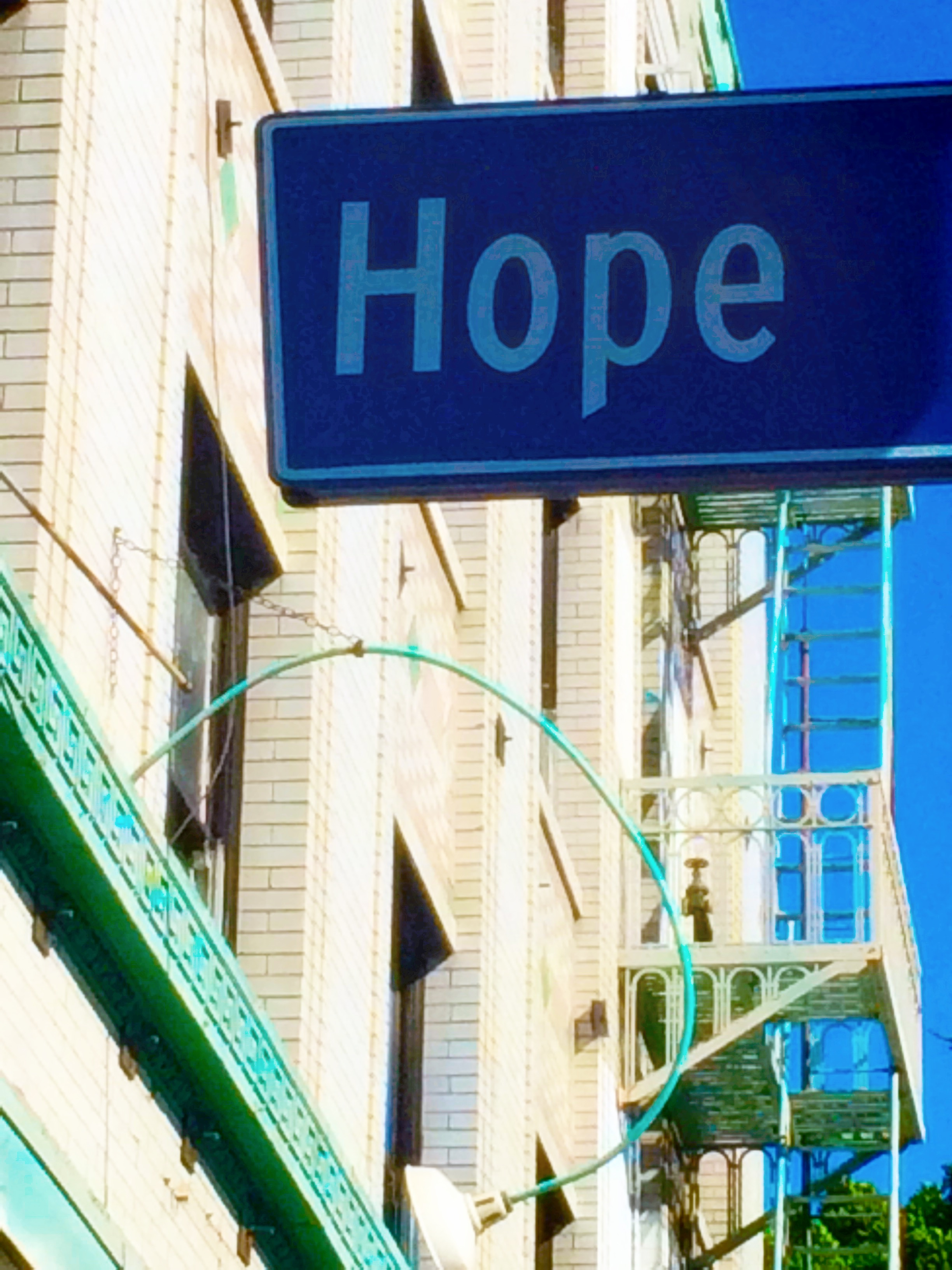 Between Hope and Flower