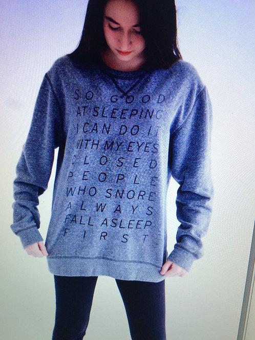 Unisex Sleepy Sweatshirt