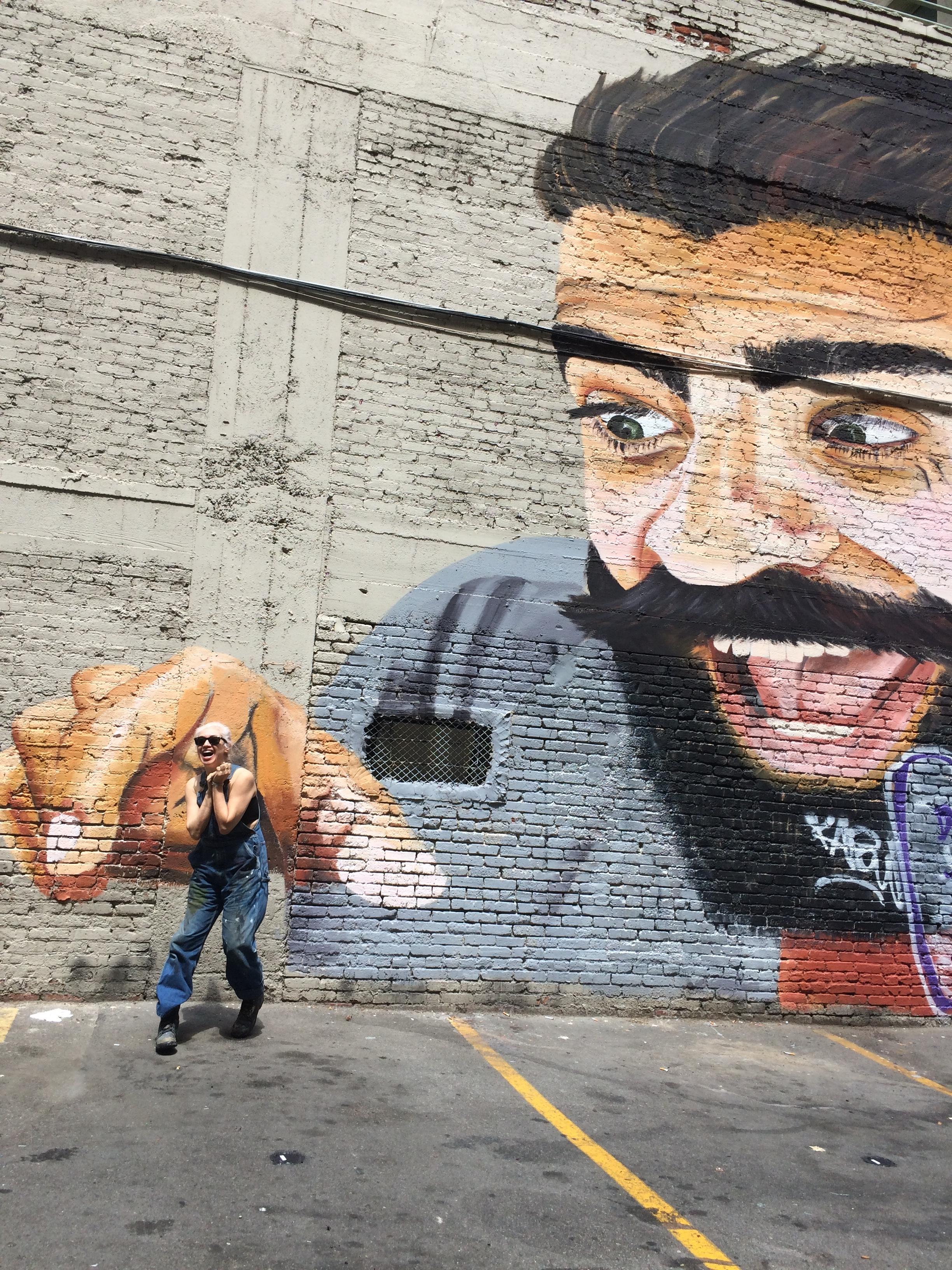 Muralist terror