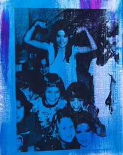 Super Girl in Blue (16X20)web