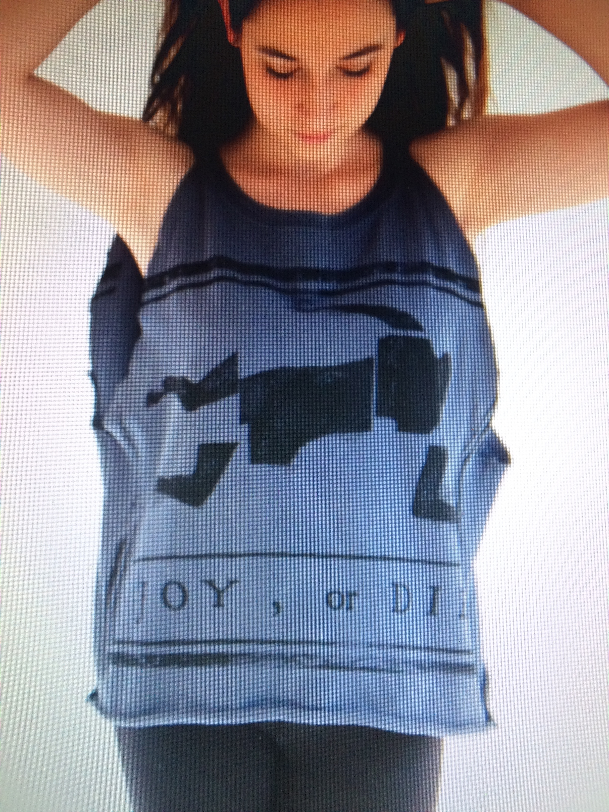 Joy or Die tee