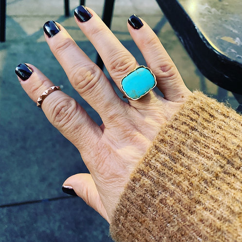 Turquoise ring (size 6 1/2)