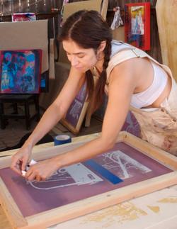 michelle in studio(for web)