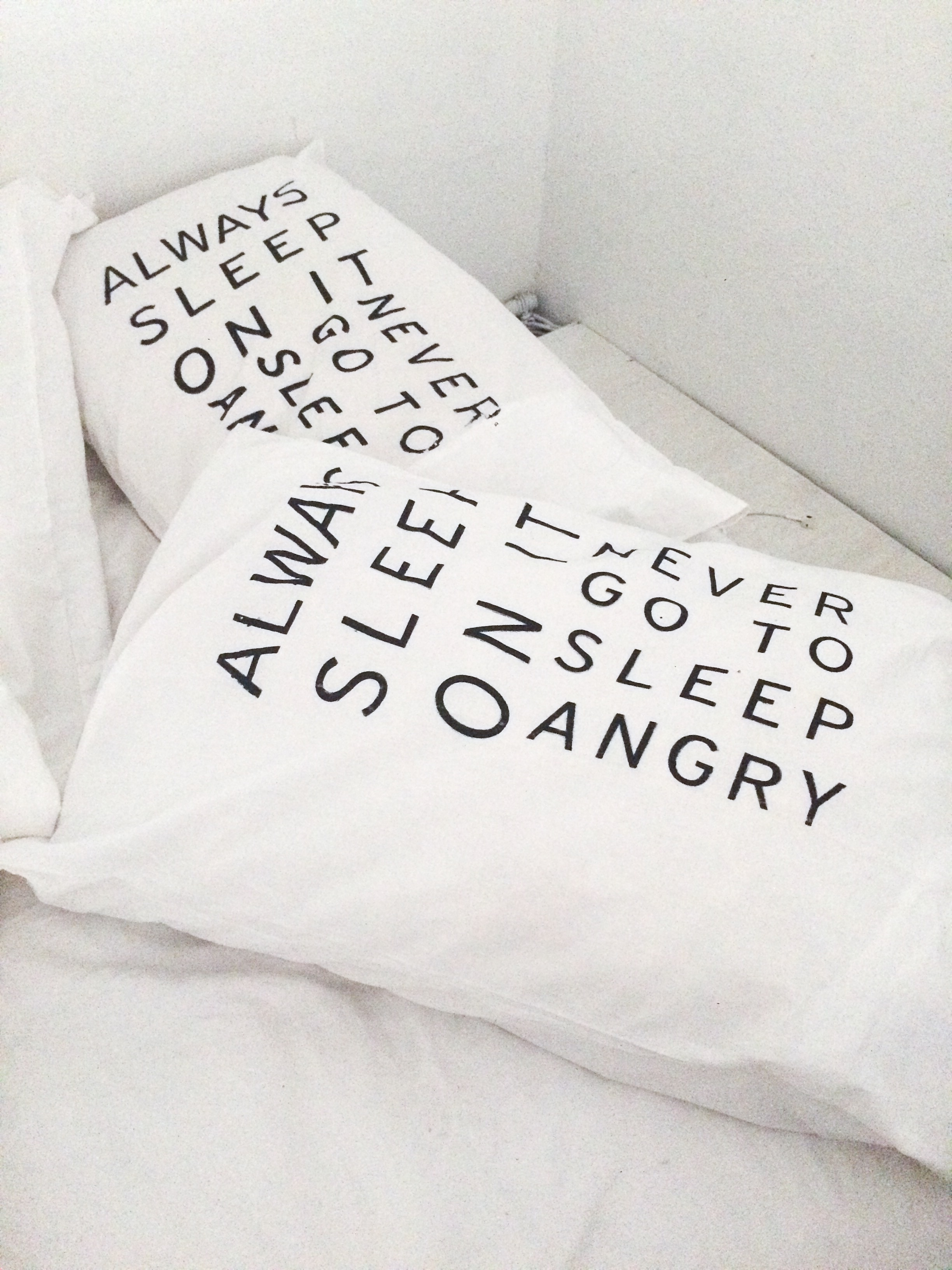 Custom pillowcases at galleryGOMEZ