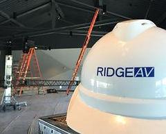 Ridge AV, Installaton, Hard Hat, Safety