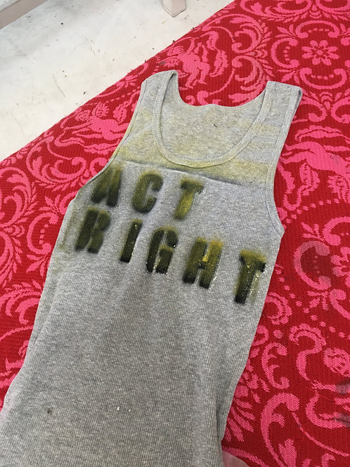 ACT RIGHT ribbed tank Size Sm