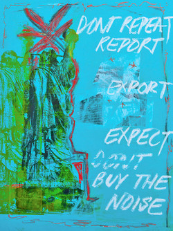 Dont Buy the Noise 36X48